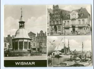 Y5949/ Wismar Hafen Alter Schwede und Reuterhaus AK