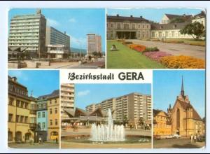 Y5804/ Gera Bezirksstadt AK