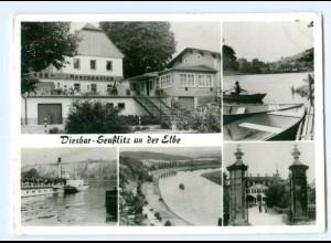 Y5818/ Diesbar-Seußlitz an der Elbe AK