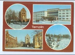 Y5866/ Templin Prenzlauer Tor Berliner Tor AK