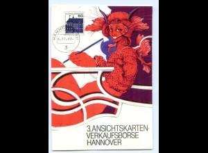 Y5661/ AK-Geschichte Ansichstkarten-Markt 1983 Hannover