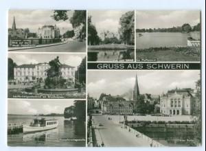 Y5971/ Schwerin Gruß aus Schwerin AK