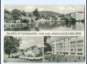 Y5965/ Burg Stargard Kreis Neubrandenburg AK