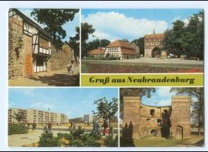 Y5964/ Neubrandenburg Wiekhäuser Stargarder Tor AK
