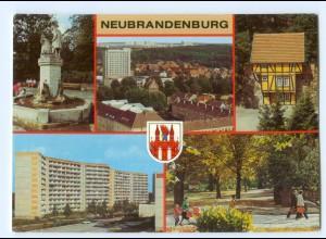 Y5963/ Neubrandenburg Blick in Richtung Ostvorstadt AK