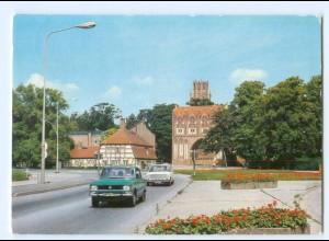 Y5975/ Neubrandenburg Blick zum Stargarder Tor AK