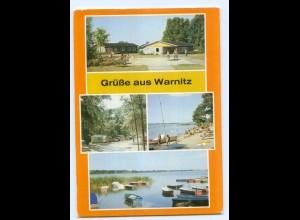Y5689/ Warnitz Kr. Prenzlau Bild und Heimat AK
