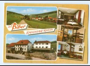 """Y5834/ Speicherz Gasthof """"Zum Biber"""" AK"""