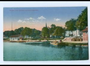 Y5751/ Hafen von Gerden Lagarde Lothringen AK ca.1915