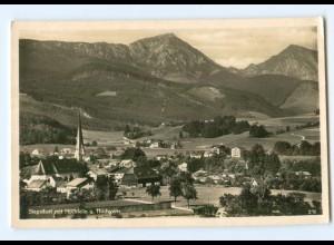 Y5840/ Siegsdorf mit Hochfelln und Hochgern Foto AK