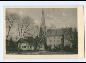 T5377-294./ Salzwedel Schulenburgpark AK ca.1940