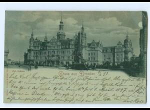 Y6249/ Dresden Kgl. Schloß 1897 AK