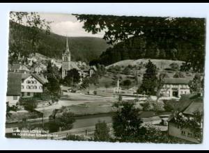 Y6230/ Höfen-Enz im nördlichen Schwarzwald Teilansicht 1965 AK