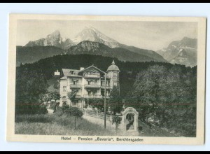 "Y6189/ Berchtesgaden Hotel ""Bavaria"" AK"