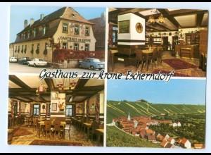 """Y6186/ Escherndorf Gasthaus """"Zur Krone"""" AK"""