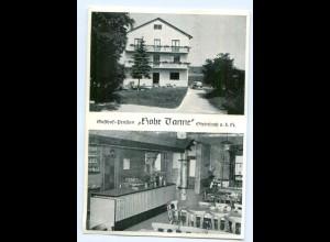 Y6132/ Schnelldorf-Steinbach Gasthof Hohe Tanne AK ca.1970
