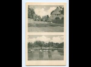DP269/ Schnakenbek Dorfstr, Dorfteich AK ca.1940