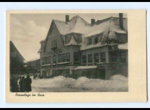 DP254/ Braunlage Cafe Dietze Wintermotiv AK ca.1940
