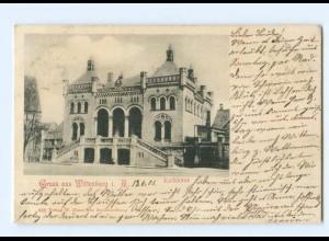 T5859-192./ Wittenburg Rathaus 1901 AK