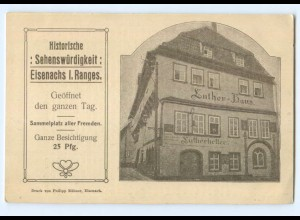 T6205-998./ Eisenach Luther-Haus ca.1912