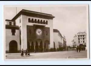 T6180/ Rabat Post Telegraphenamt Marokko Foto AK ca.1935
