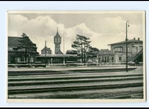 T5848-2060/ Bad Oldesloe Bahnhof 1937 AK