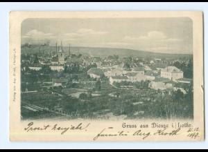 T6147/ Gruß aus Dieuze in Lothringen AK 1899