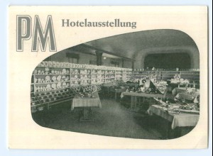 Y6172/ Hannover Dt. Industrie-Messe 1959 AK Porzellan Maass