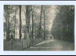 T6456/ Hannover-Eilenriede Steuerndieb 1907 AK