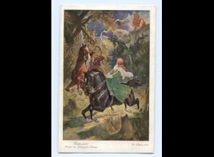 Y6433/ Rübezahl - Flucht der Prinzessin Emma AK ca.1920