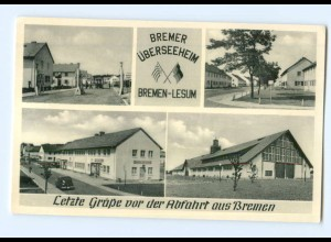 T6099/ Bremen-Lesum Überseeheim ca.1955 AK