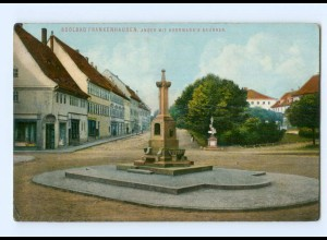 T6090-065./ Frankenhausen Anger mit Herrmann´s Brunnen AK