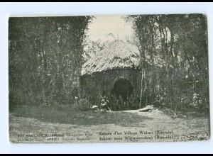 T6623/ Deutsch-Ost-Afrika Belgische Besetzung AK Ruanda Watuzi