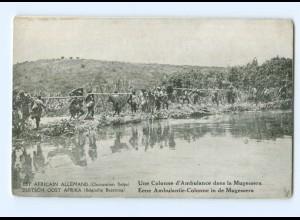 T6627/ Deutsch-Ost-Afrika Belgische Besetzung AK Ambulantie-Colonne