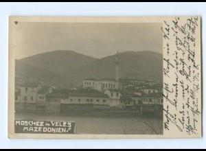 T6370/ Moschee in Veles Mazedonien Foto AK 1917