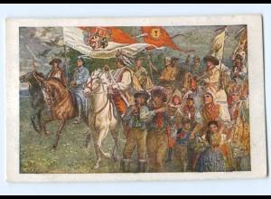 Y8404/ Hey Slovane..... Nationalhymne Jugoslawien AK