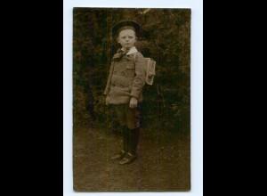 Y6468/ Einschulung Schule Foto AK 1912