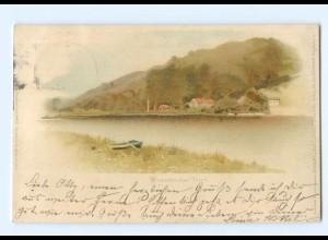 Y6610/ Wiesenbecker Teich bei Bad Lauterberg Meissner & Buch Litho AK 1898
