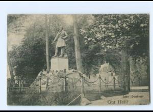 T6404/ Berlin Hasenhaide Turnplatz AK Jahn-Denkmal 1911