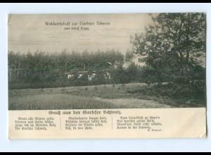 Y6596/ Gruß aus der Garbser Schweiz Hannover AK 1916