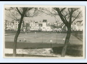 Y6606/ Blankenberghe Tennisplatz Foto AK 1931 Belgien