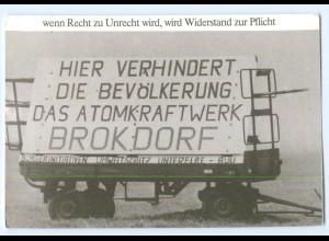 Y6567/ Brokdorf Anti-Atomkraft KKW 1976 AK