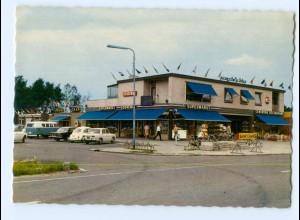 T6836/ Grenze Deutschland - Niederlande Tensundern Denekamp Grens AK Supermarkt