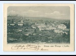 T6918/ Gruß aus Dieuze Lothringen AK 1900