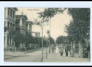 T6966-174./ Seebad Ahlbeck schöne AK ca.1900