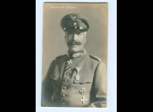 T7634/ General von Francois mit Ehrenzeichen Foto AK 1916