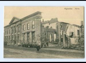 T7356/ Vigneulles Mairie zerstört 1. Weltkrieg Frankreich AK ca.1915