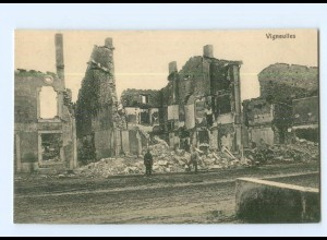 T7357/ Vigneulles zerstört 1. Weltkrieg Frankreich AK ca.1915