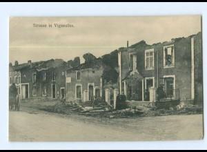 T7358/ Vigneulles zerstört 1. Weltkrieg Frankreich AK ca.1915