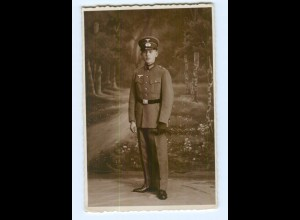 Y6961/ Soldat in Uniform Foto AK ca.1940 Fot. F. Reimer, Harburg